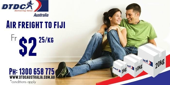 Courier to Fiji