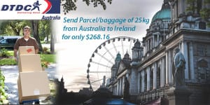 Cheap Courier To Ireland