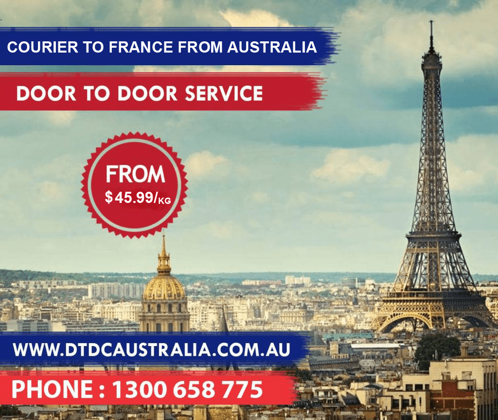 Courier to France
