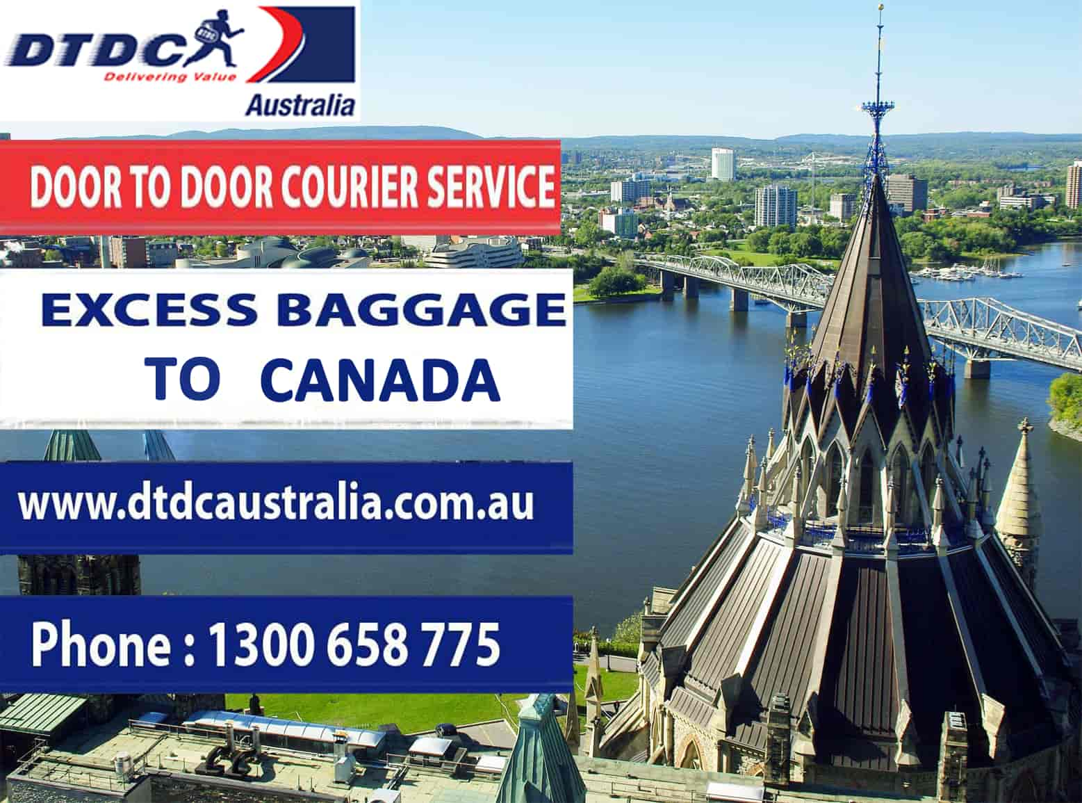 excess baggage to canada