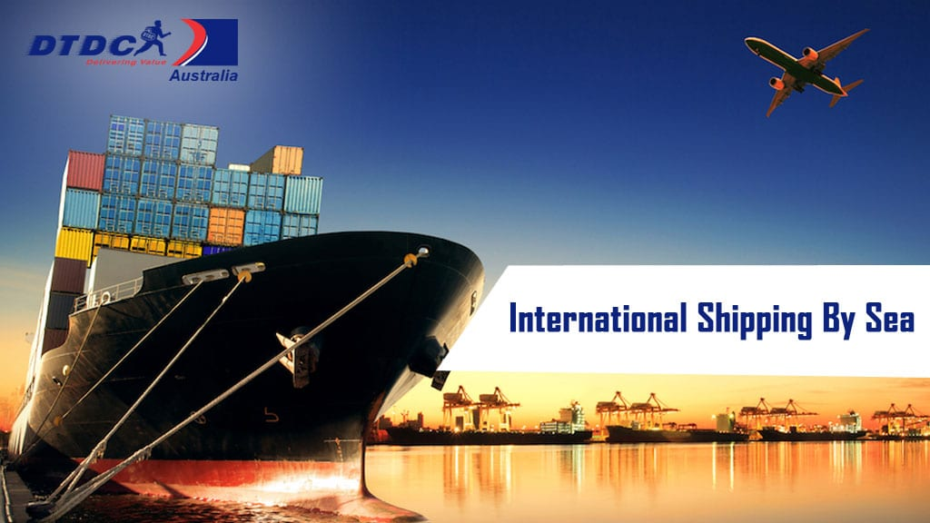 international shipping by sea