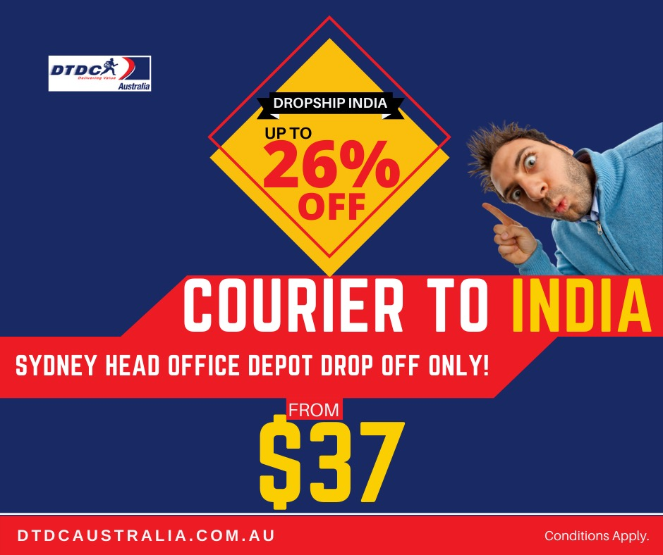 Courier to India