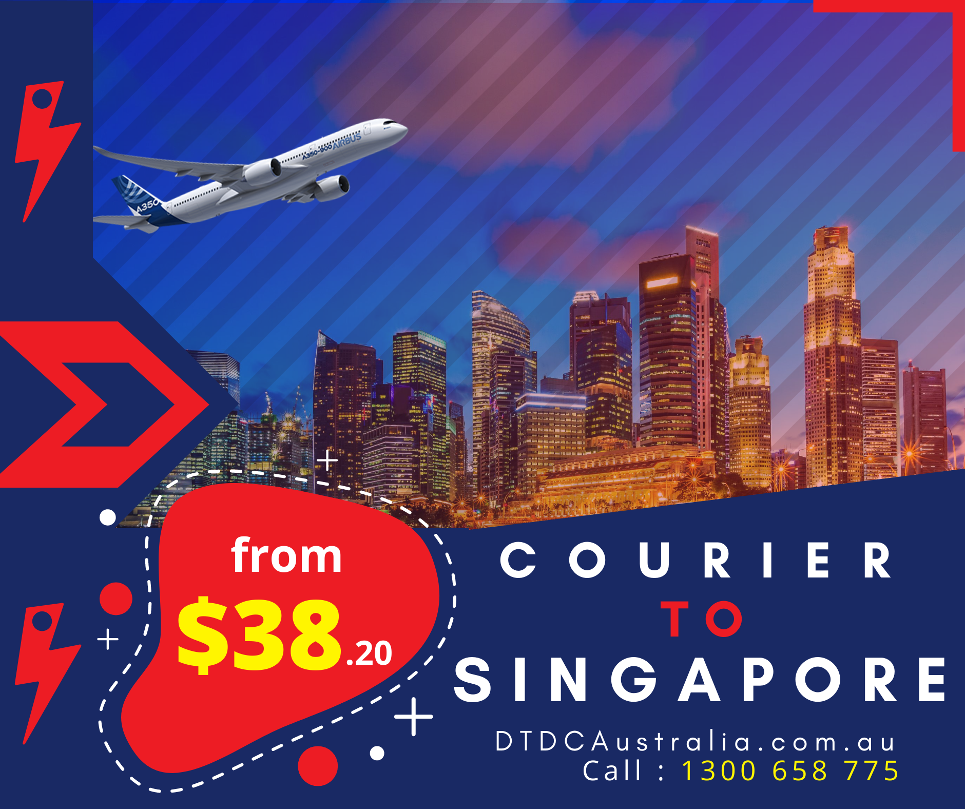 Courier to Singapore