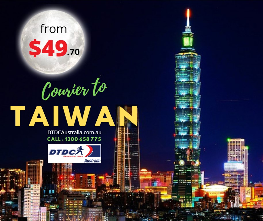 Courier to Taiwan