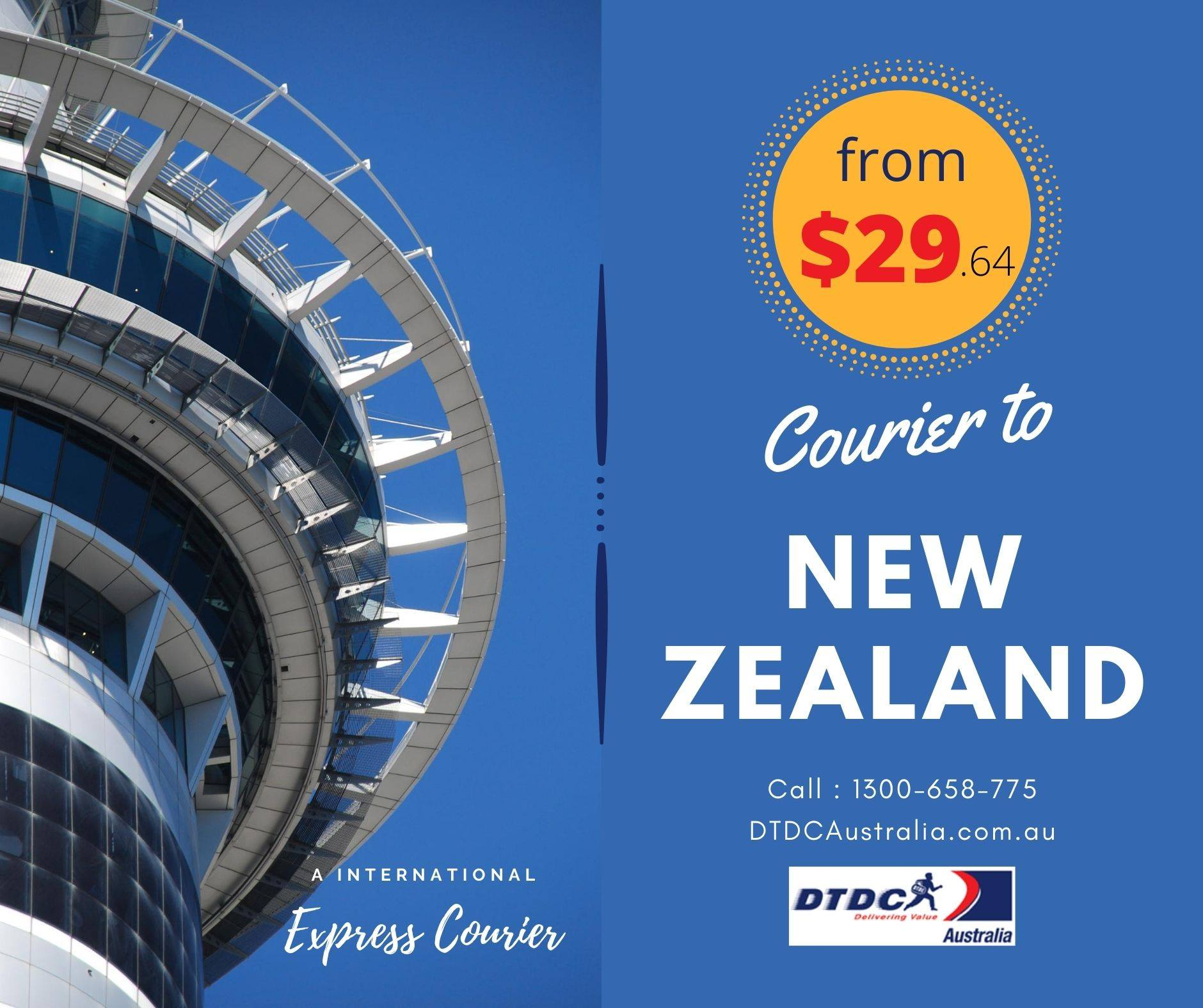 Courier to New Zealand