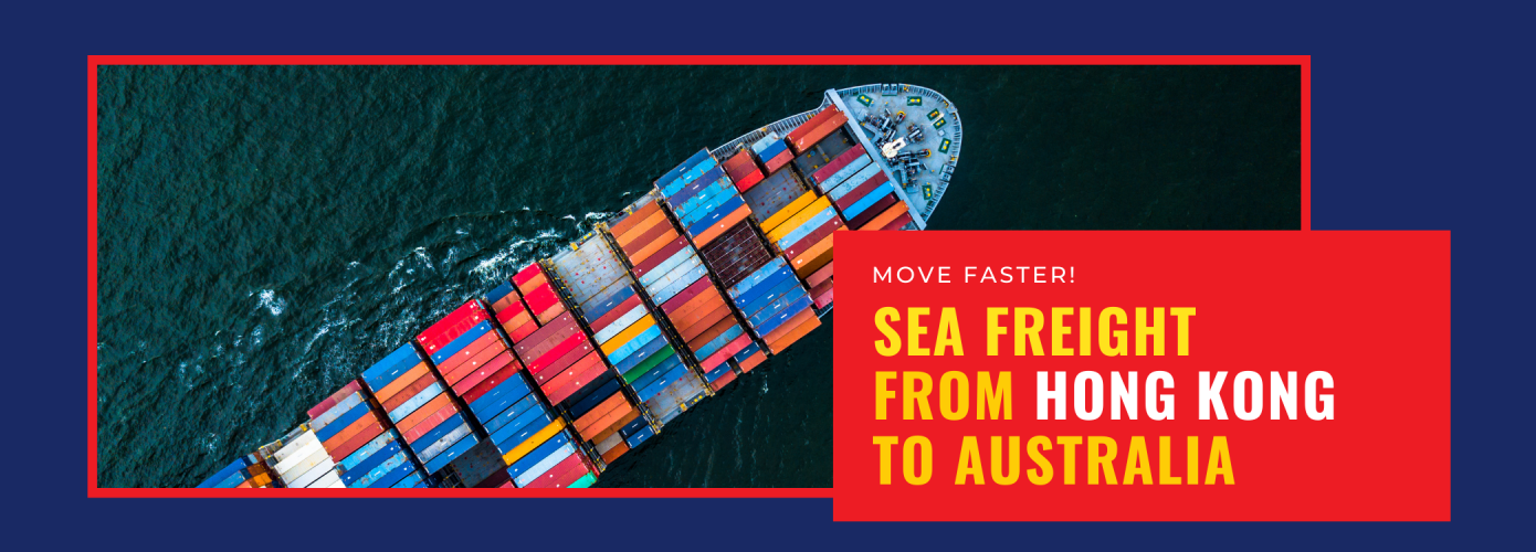 Sea freight from Hong Kong to Australia